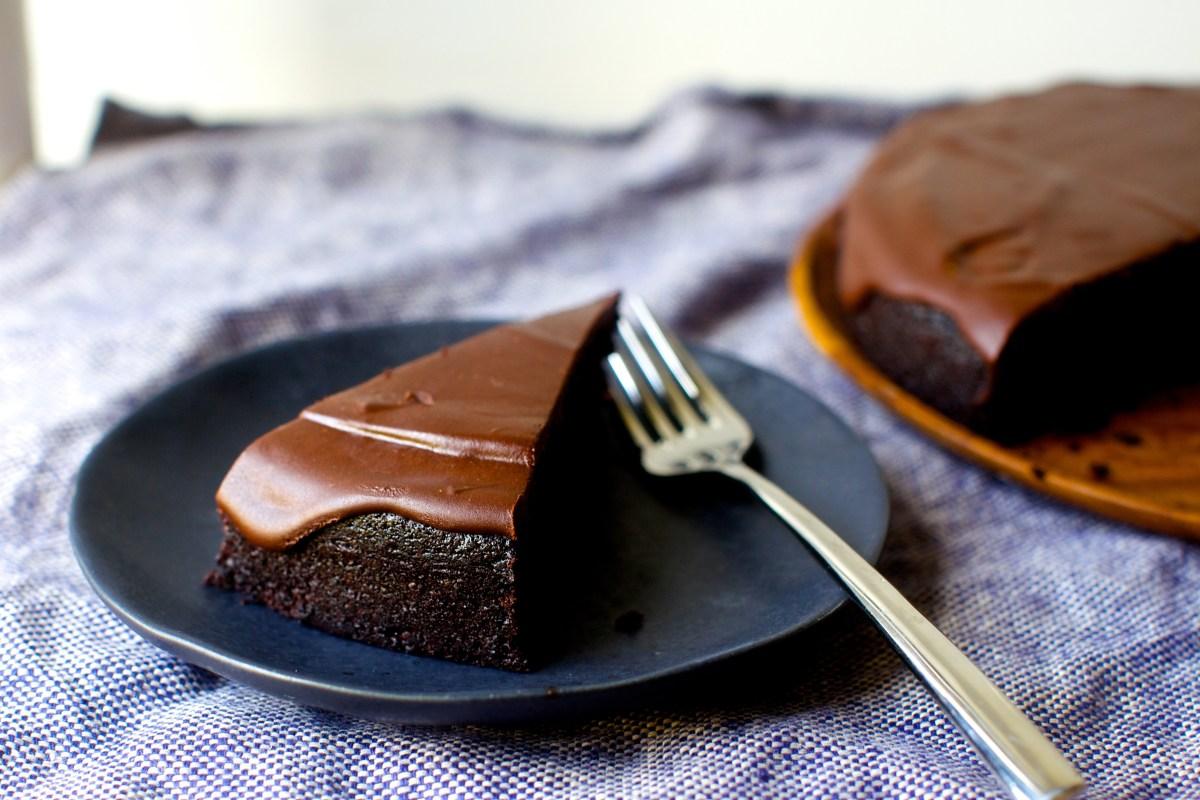 cara membuat cake lumer coklat