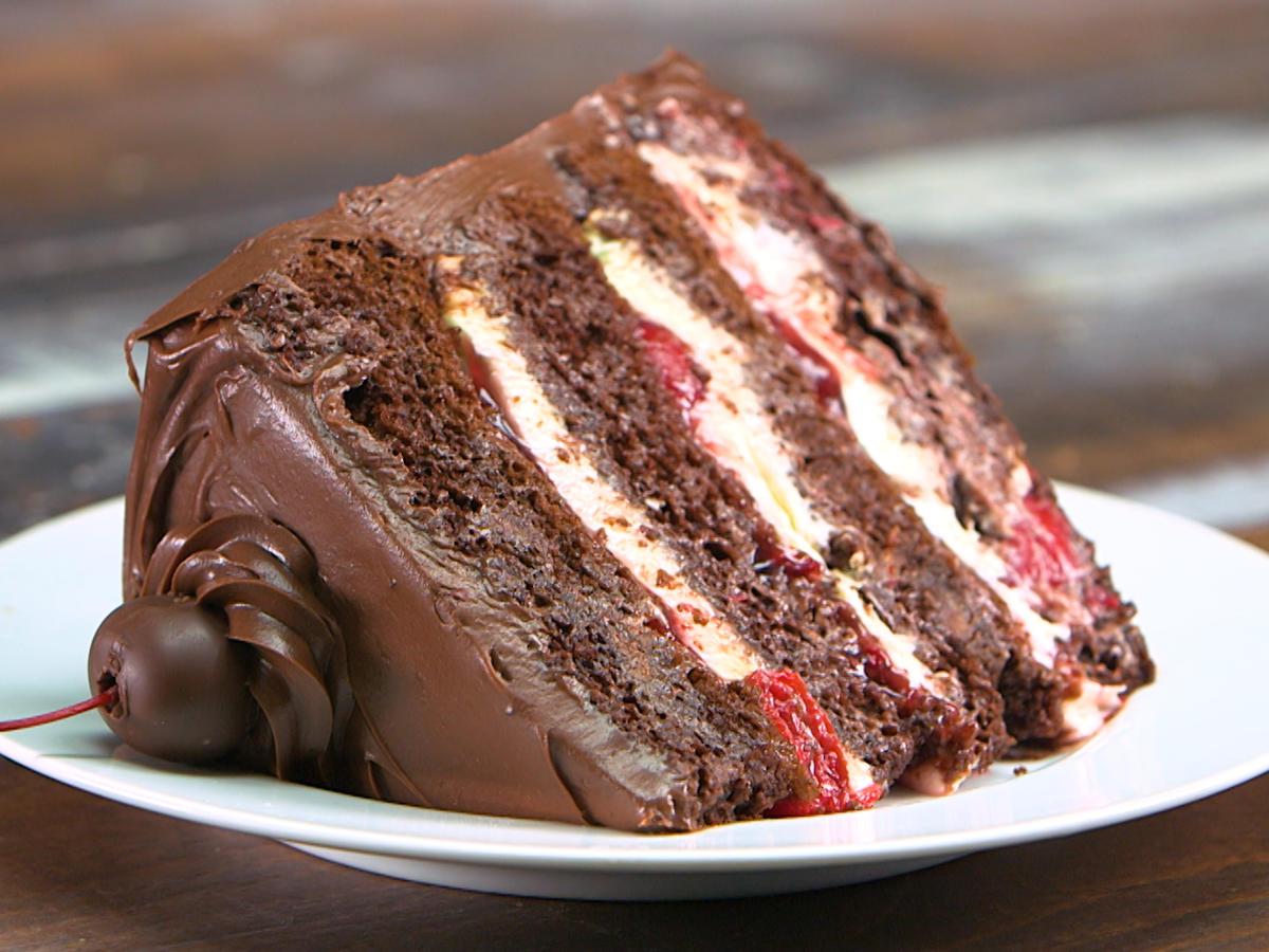 cara membuat coklat siram untuk kue tart