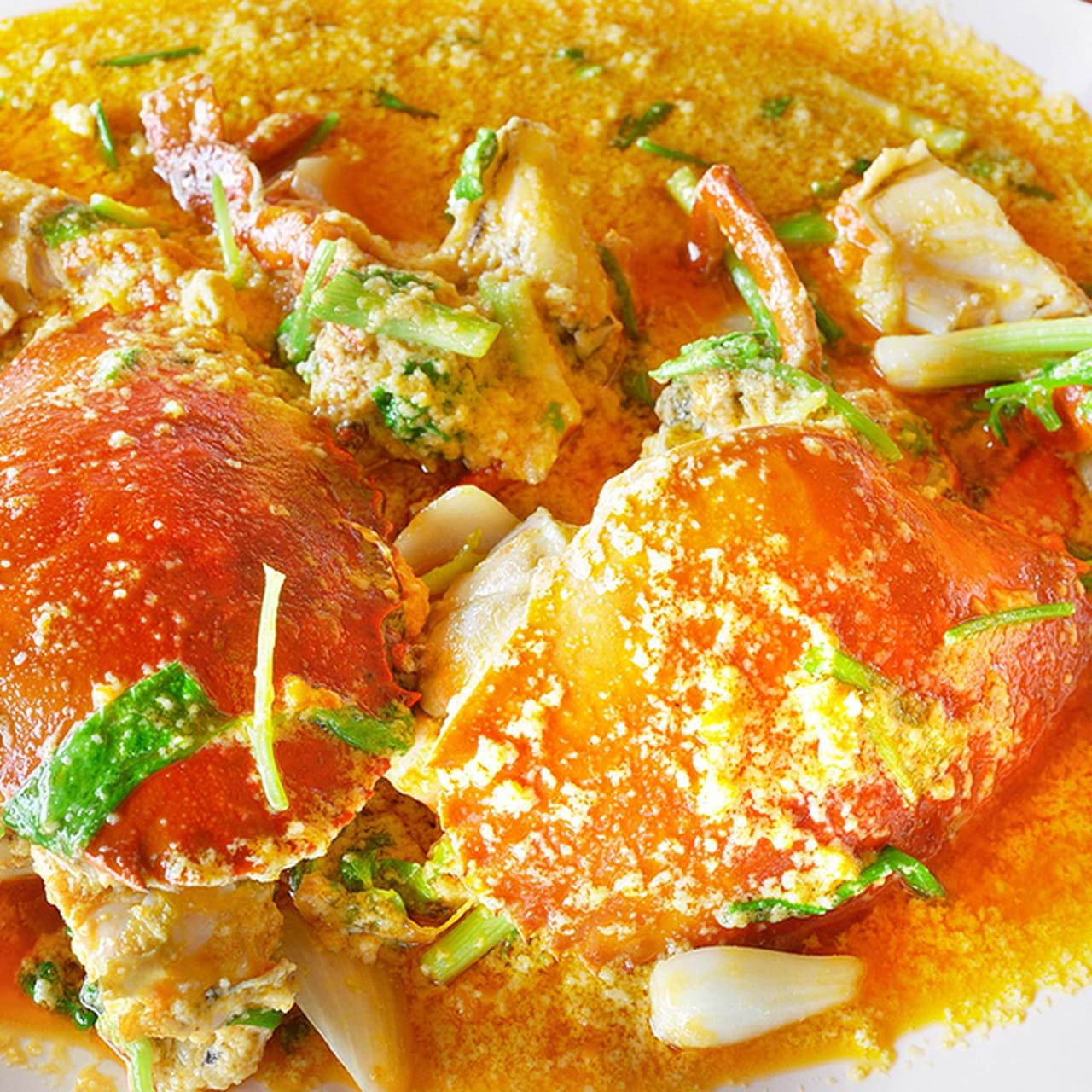 cara memasak kepiting santan
